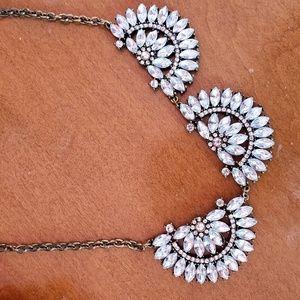 New York & company jeweled necklace